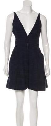 Chanel Tweed Sleeveless Dress