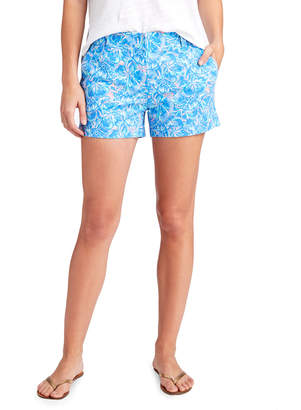 Vineyard Vines 3 1/2 Inch Tropical Turtles Every Day Shorts