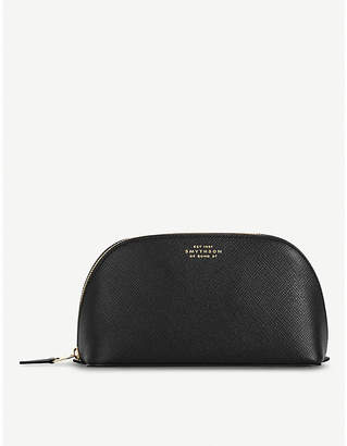 Smythson Panama leather cosmetics case