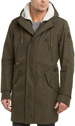 Moose Knuckles Three Creeks Nylon Ankorak Coat