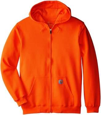 Carhartt Men's Big & Tall Midweight Sweatshirt Hooded Zip Front Original Fit K122