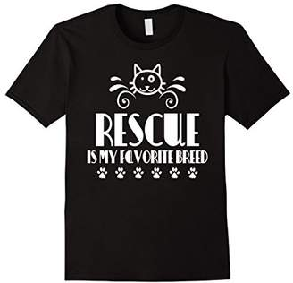 Breed Rescue is my favorite Pet Rescue Tshirt for Cats Dogs