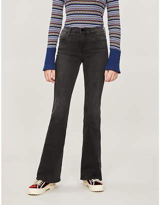 9cd43658b3 Frame Le High Flare skinny flared high-rise jeans