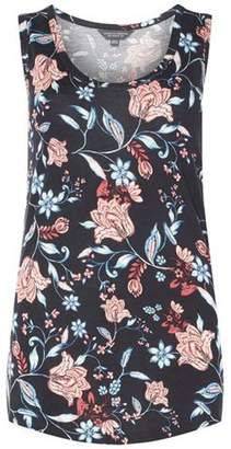Dorothy Perkins Womens **Tall Navy Floral Vest