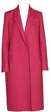 Alexander McQueen Women's Virgin Wool & Cashmere Coat