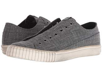 John Varvatos Two-Tone Blended Fabric Low Top