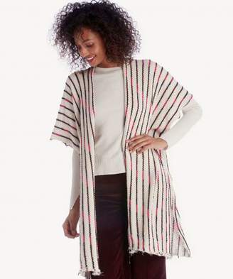 Sole Society Knit Kimono w/ Lurex