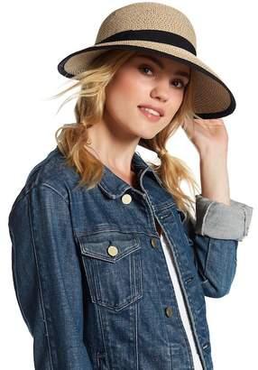 August Hat Ladylike Oversized Framer Hat $36 thestylecure.com