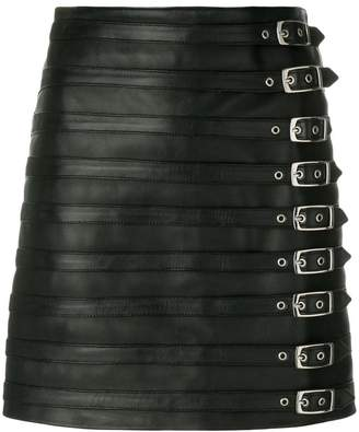 Manokhi multi buckle skirt