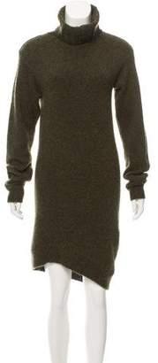 Celine Cashmere & Mohair-Blend Sweater Dress
