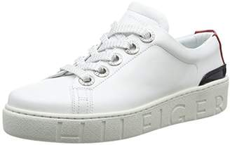 e48ae0f2ce58e8 Tommy Hilfiger Women s Tommy Fashion Sneaker Low-Top