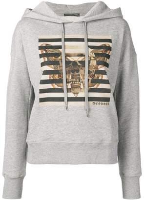 Alexander McQueen butterfly & skull printed hoodie