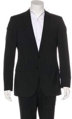 Ralph Lauren Black Label Striped Wool Blazer