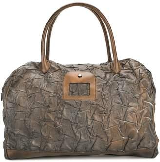 Numero 10 textured overnight tote bag