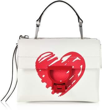 Coccinelle Arlettis San Valentino Leather Shoulder Bag