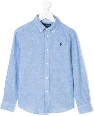 Ralph Lauren embroidered-logo button-down shirt