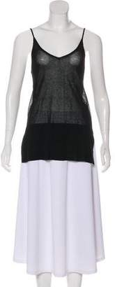 Soyer Sleeveless High-Low Tunic