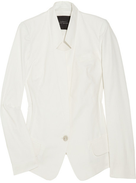 Robert Rodriguez Cotton-blend twill blazer