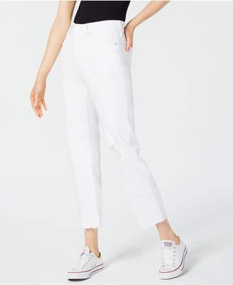 NYDJ Jenna Straight-Leg Ankle Jeans