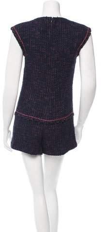 Chanel Tweed Sleeveless Romper