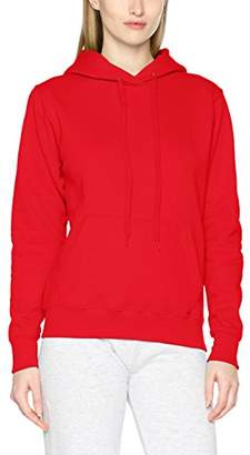 Fruit of the Loom Women's Classic Hooded Sweat Lady-Fit Hoodie,XL