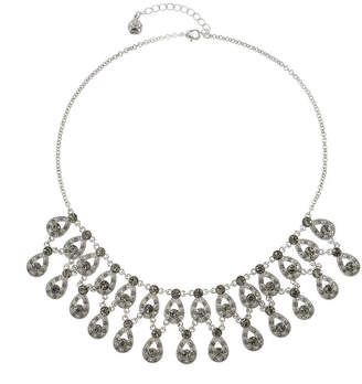 MONET JEWELRY Monet Jewelry Womens Gray Statement Necklace