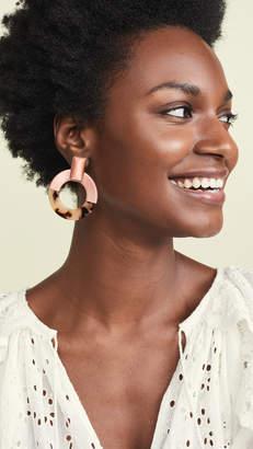 BaubleBar Emelda Hoop Earrings