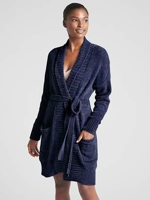 Gap Chenille Robe Cardigan Sweater