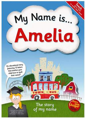 My Name Is - Personalised Book
