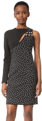 Versus One Shoulder Dress $850 thestylecure.com