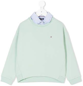 Tommy Hilfiger Junior logo sweatshirt