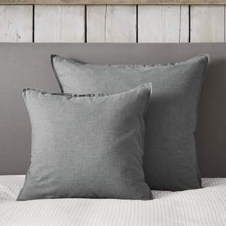 The White Company Clevedon Brushed Cushion Cover
