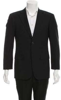 Barneys New York Barney's New York Wool Two-Button Blazer
