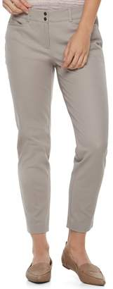 Apt. 9 Petite Tapered Ankle Pants