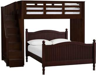 Pottery Barn Kids Twin Stair Loft & Lower Bed Set