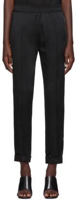 Haider Ackermann Black Kuiper Elastic Waistband Trousers