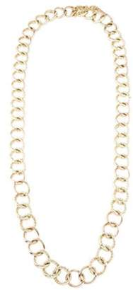 Michael Kors Wrapped Curb Chain Necklace Gold Michael Kors Wrapped Curb Chain Necklace