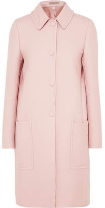 Bottega Veneta Wool-blend Drill Coat - Pastel pink
