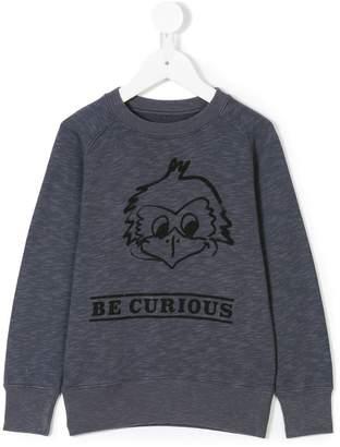 Bellerose Kids Be Curious sweatshirt
