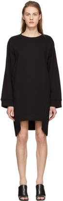 Maison Margiela Black Pleat Panel Dress