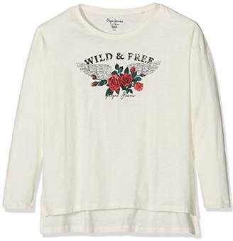 Pepe Jeans Girl's Pg501329 T-Shirt,(Size Manufacturer: M)