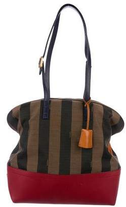 Fendi Pequin Striped 2Bag Tote