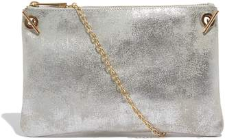 At Next Womens Oasis Pewter Leoni Clutch