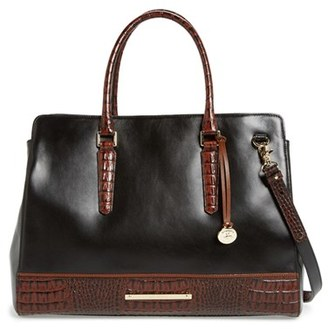 Brahmin 'Finley' Leather Tote $425 thestylecure.com