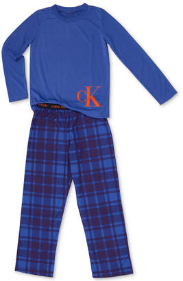 Calvin Klein Big Boys 2-Pc. Pajama Set