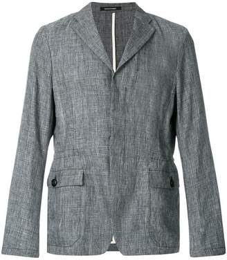 Emporio Armani camp-collar overshirt