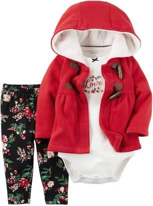 Carter's Baby Girls' 3 Piece Cardigan Set (Baby)