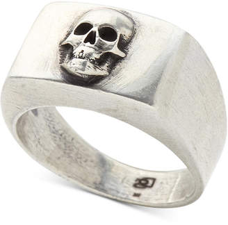Degs & Sal Men's Skull Ring in Sterling Silver