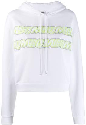 McQ embroidered logo hoodie