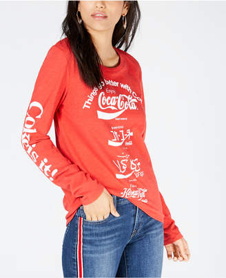 Lucky Brand Cotton Coca-Cola Language T-Shirt